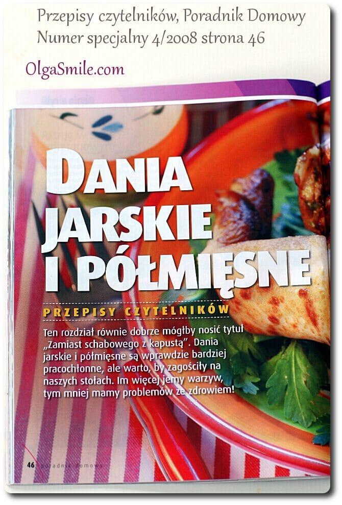 Poradnik Domowy Dania jarskie i półmięsne