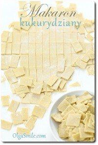 Jak zrobić makaron kukurydziany