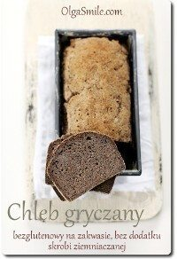 Chleb gryczany na zakwasie bezglutenowy
