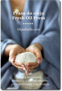 Prasa do oleju Fresh Oil Press