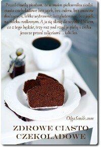 Zdrowe ciasto czekoladowe