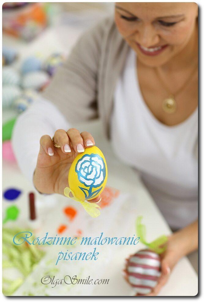 Malowanie jajek wielkanocnych