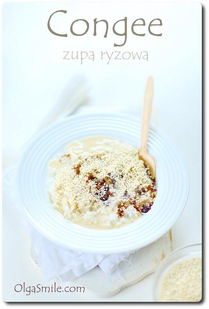 Congee zupa ryżowa
