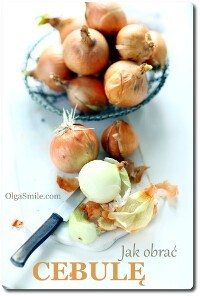 Jak obrać cebulę