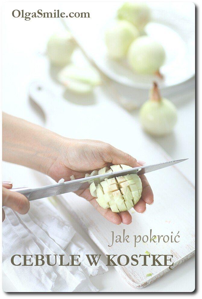 Jak pokroić cebule w kostkę