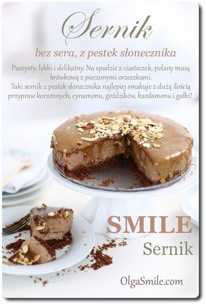Sernik Smile czyli sernik bez sera