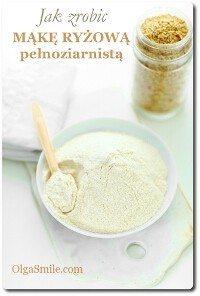 Jak zrobić mąkę ryżową