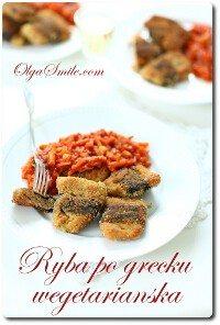 Ryba po grecku wegetariańska