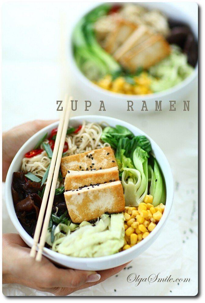 Zupa ramen rosół japoński