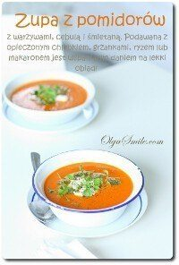 Zupa z pomidorów
