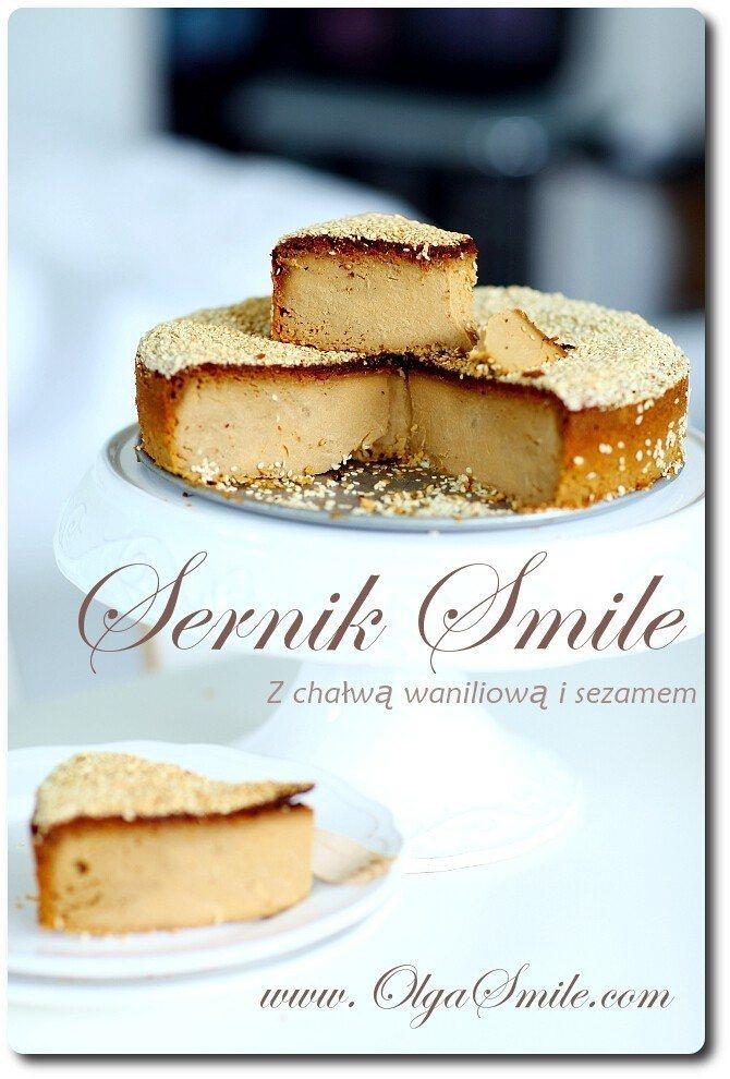 Sernik Smile z chałwą