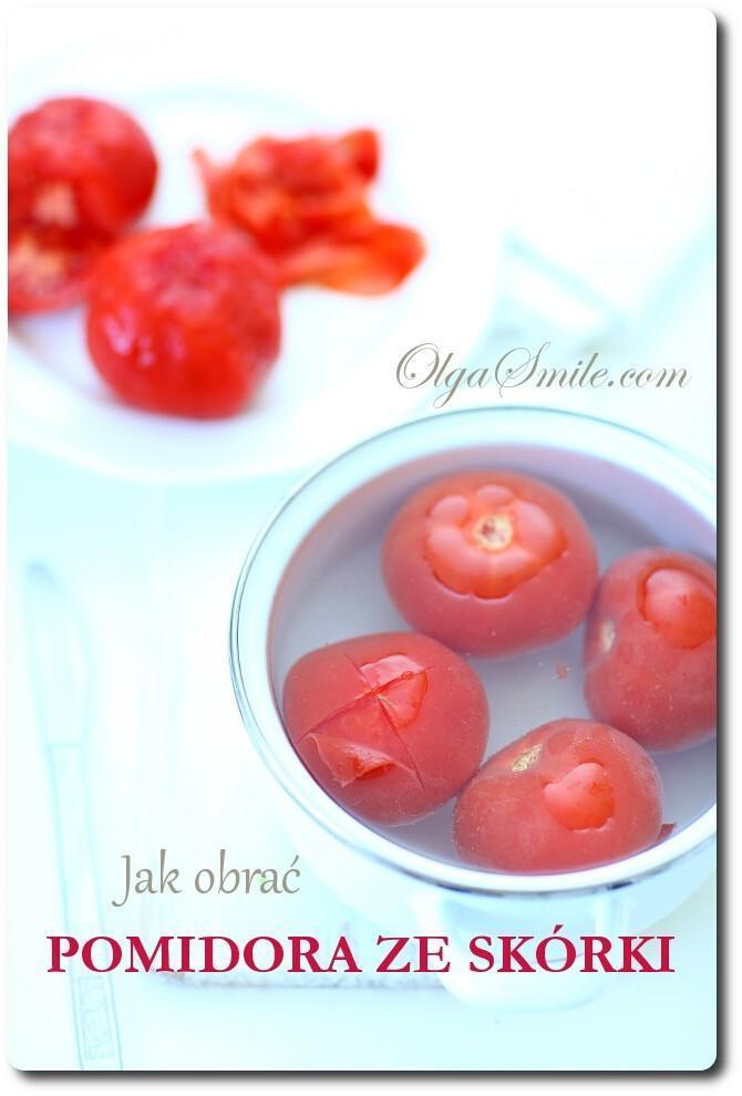 Jak obrać pomidora ze skórki
