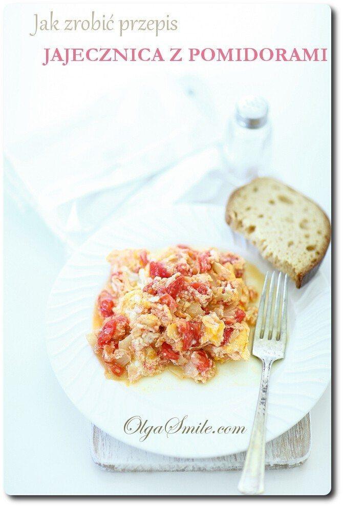 Jak zrobić przepis jajecznica z pomidorami