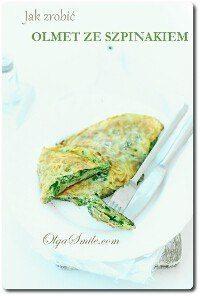 Jak zrobić omlet ze szpinakiem