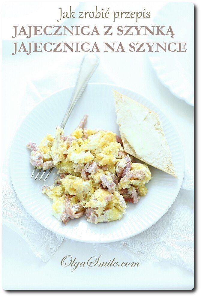 Jak zrobić przepis jajecznica z szynką