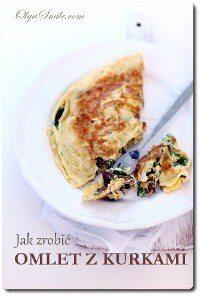 Jak zrobić omlet z kurkami