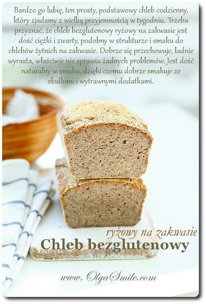 Chleb bezglutenowy ryżowy na zakwasie
