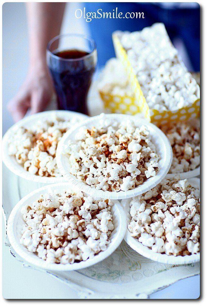 Popcorn z cynamonem