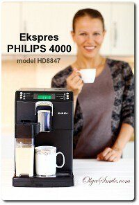 Ekspres PHILIPS 4000 HD8847