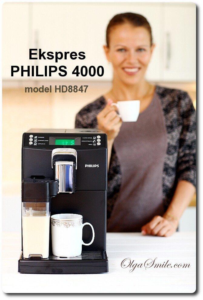 Ekspres PHILIPS 4000