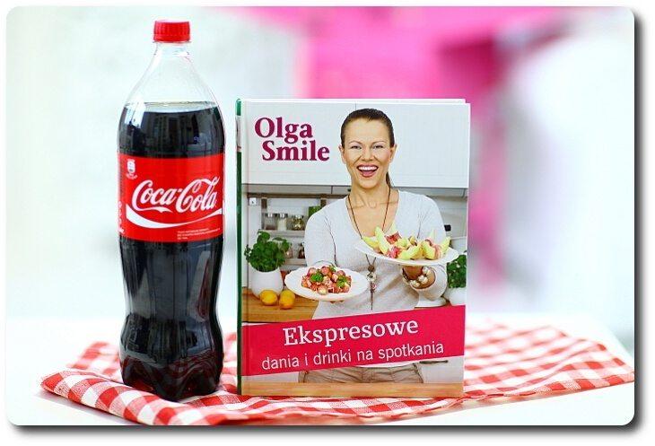 NAGRODA książka i Coca-Cola