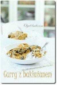 Curry z bakłażanem