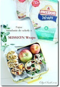 Fajne drugie śniadanie do szkoły z Mission Wraps