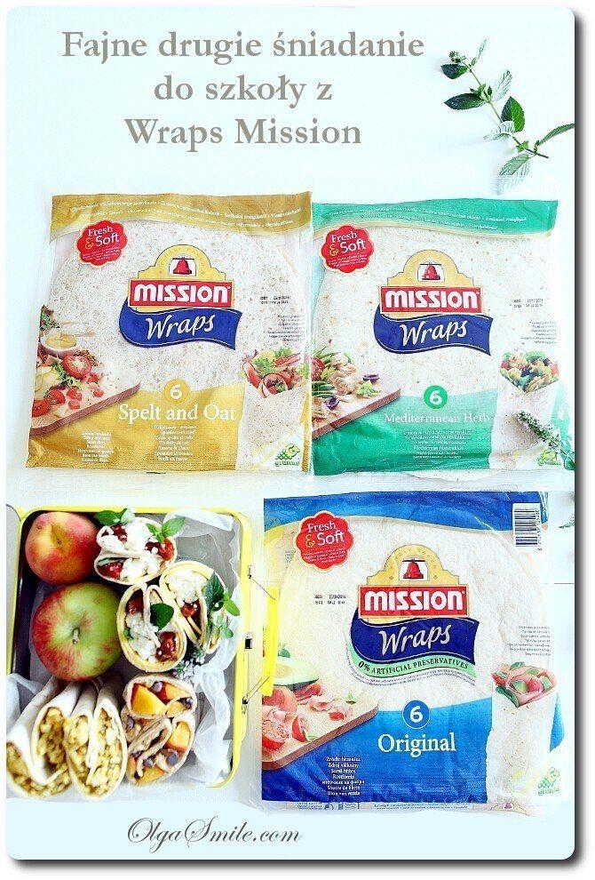 Fajne drugie śniadanie do szkoły z Wraps Mission