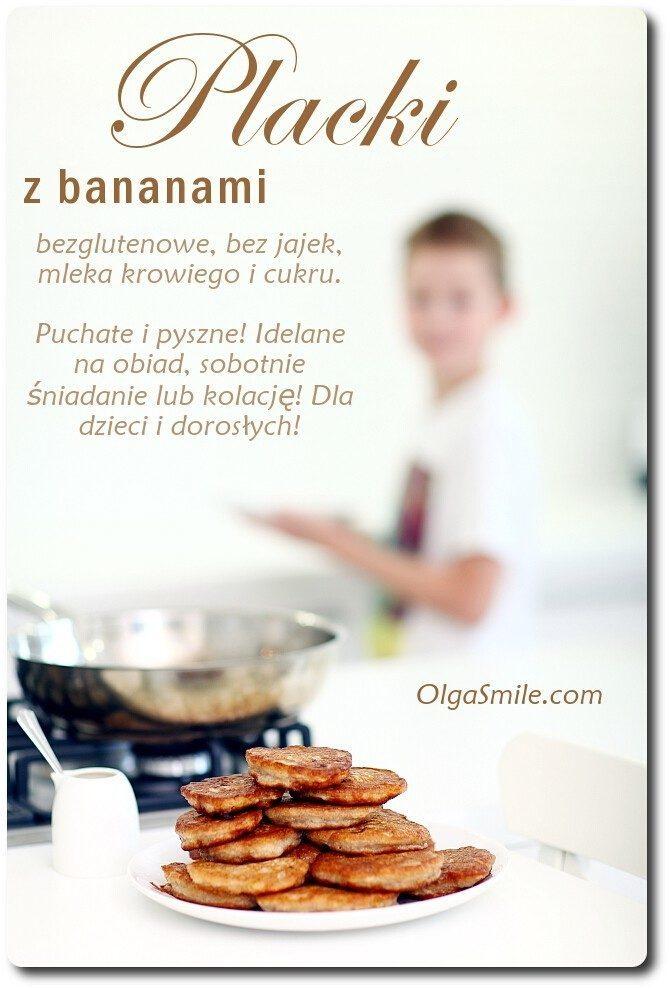 Placki z bananami