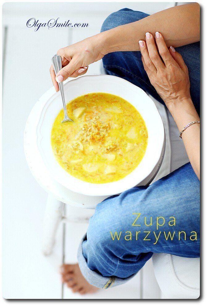 Zupa warzywna przepis Olga Smile
