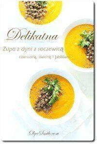 Zupa z dyni z soczewicą