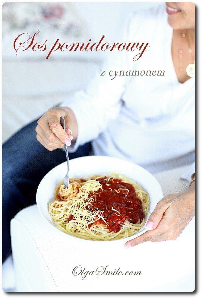 Sos pomidorowy z cynamonem