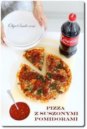 Pizza z suszonymi pomidorami