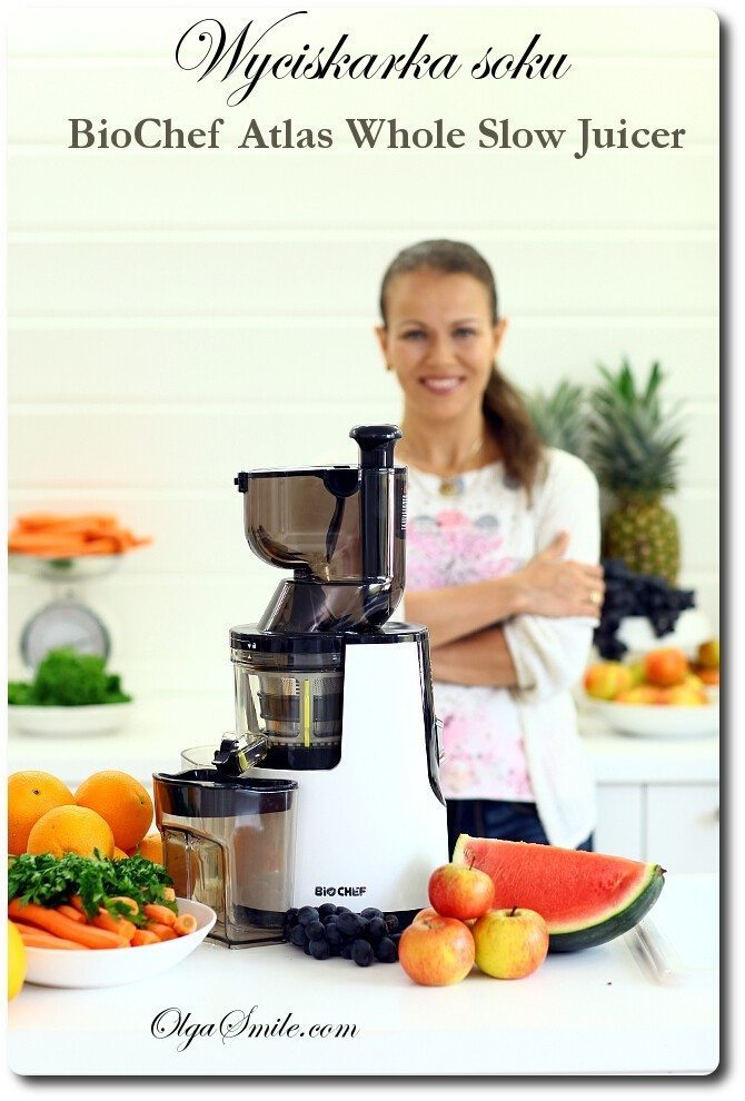 Wyciskarka soku BioChef Atlas Whole Slow Juicer