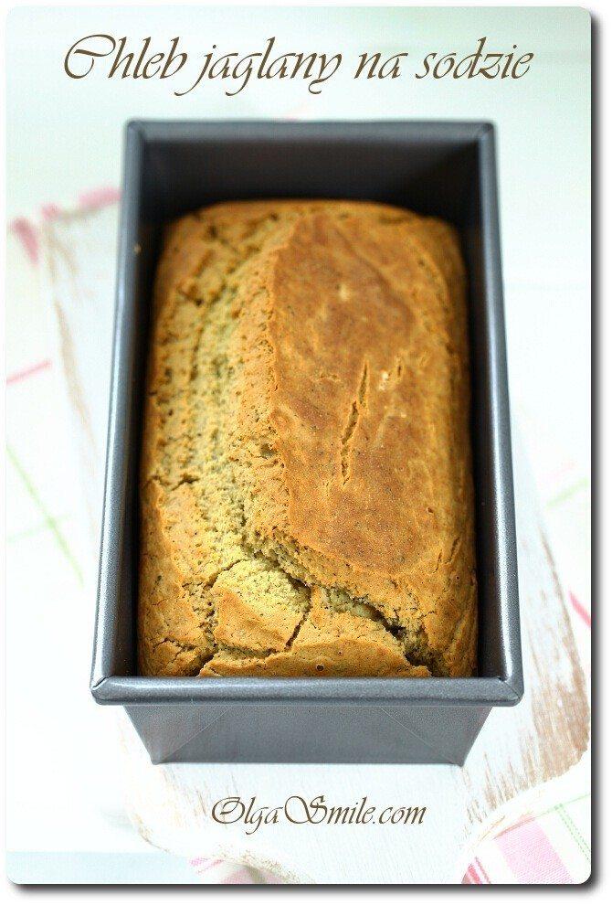 Chleb jaglany na sodzie bezglutenowy