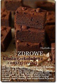 Ciasto czekoladowe z mąki gryczanej