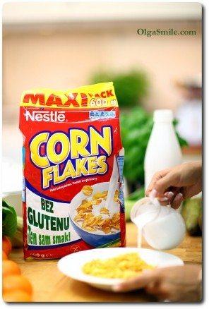 Płatki kukurydziane CornFlakes bez glutenu