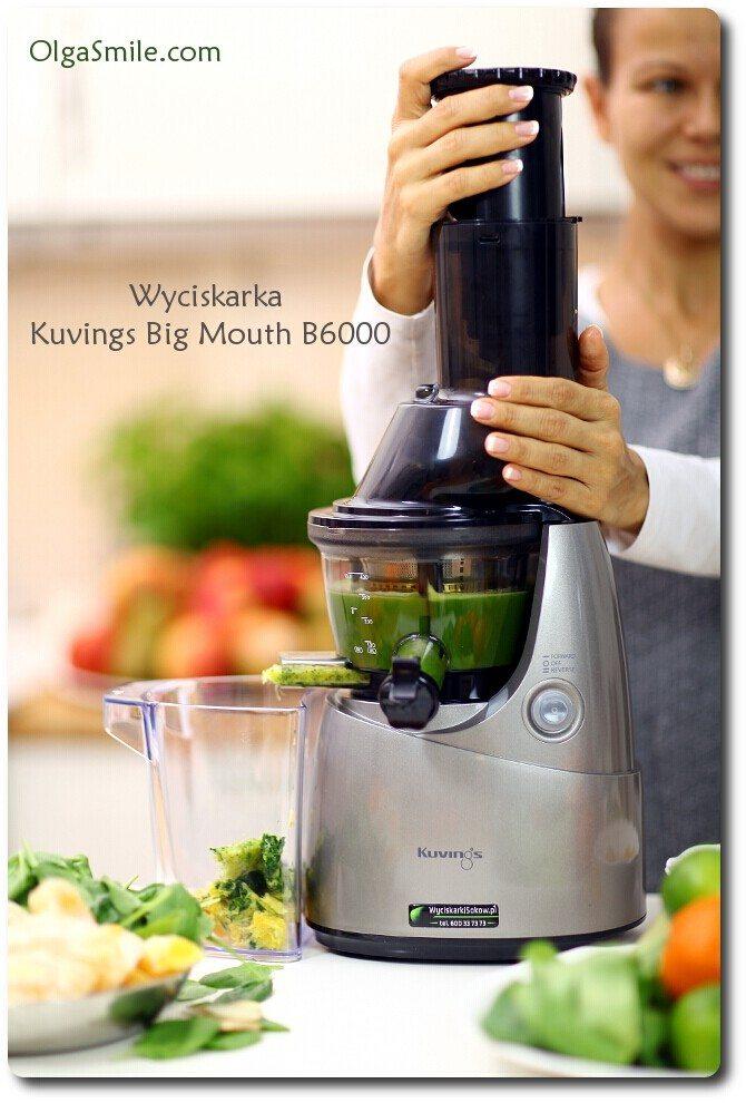 Wyciskarka  Kuvings Big Mouth B6000