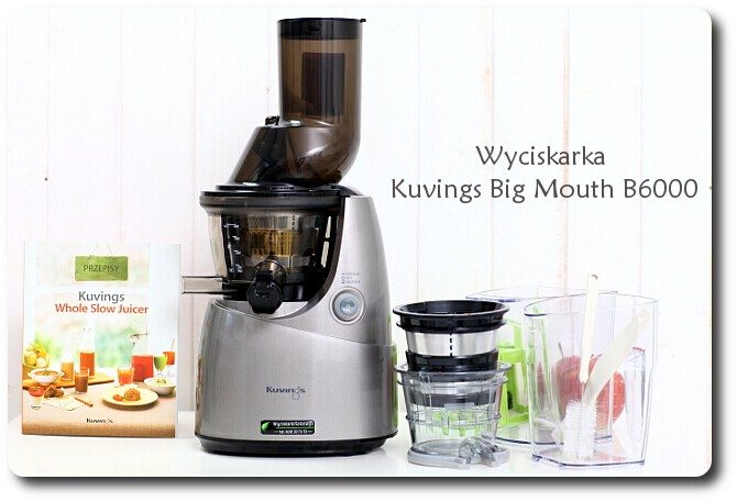 Wyciskarka  Kuvings Big Mouth B6000