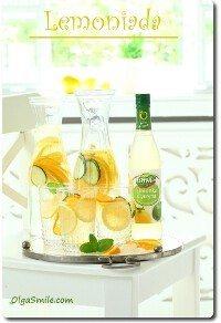 Lemoniada z syropem Łowicz Limonka Cytryna