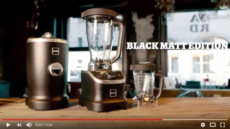 Novis Pro Blender Black Matt