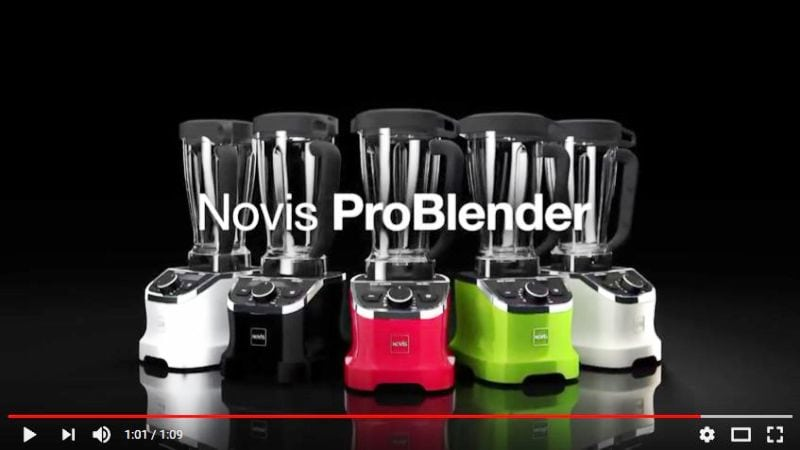 Novis Pro Blender na YouTube