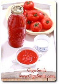 Passata czyli przecier pomidorowy
