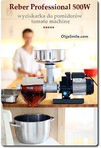Wyciskarka do pomidorów Reber Professional tomato machine