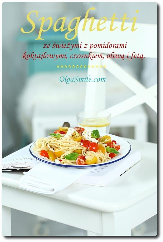 Spaghetti z pomidorami