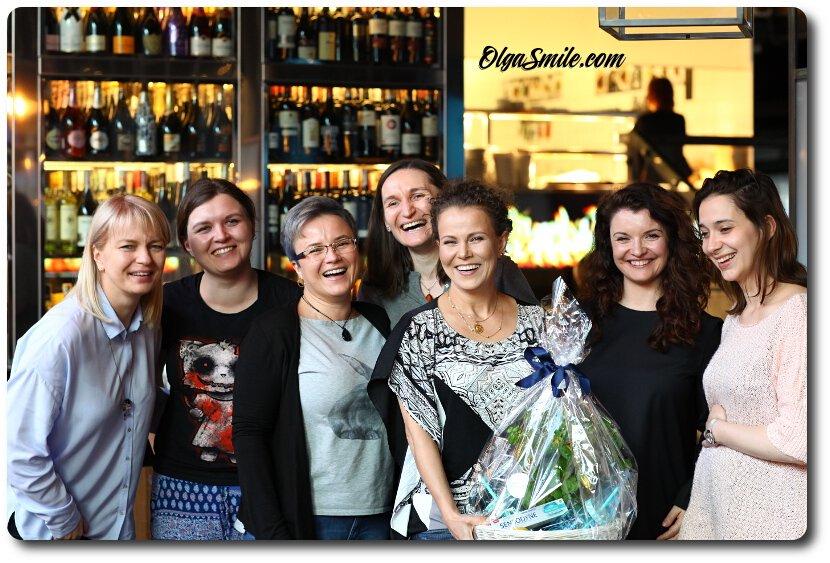 Spotkanie Olgi Smile z czytelnikami - impreza SENSODYNE Deep Clean