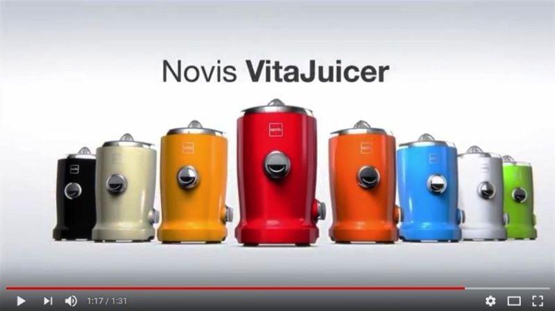 Wyciskarka do soku Novis Vita Juicer