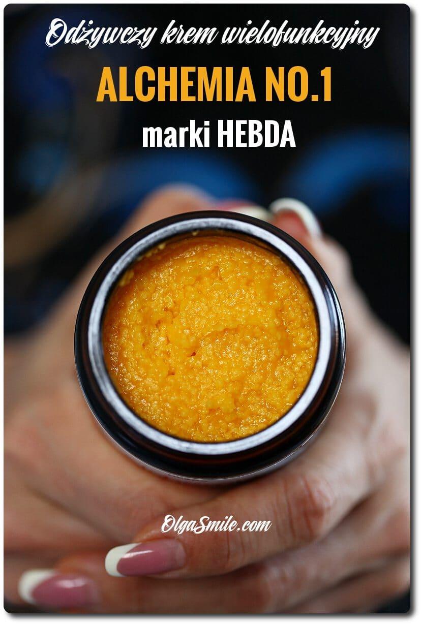 Odżywczy krem wielofunkcyjny marki HEBDA ALCHEMIA NO.1