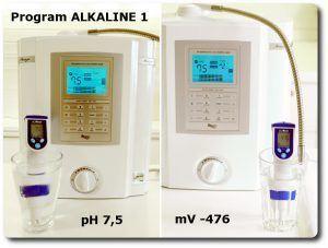 Pomiary wody na programie PURYFI miernikiem pH i mV