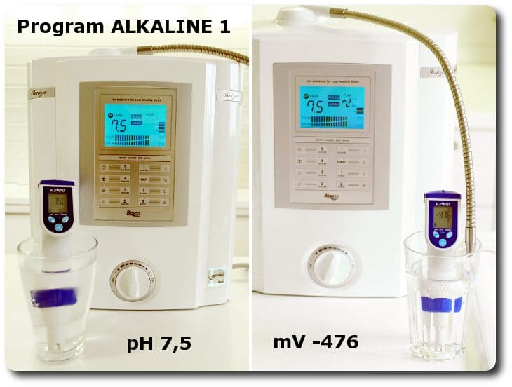 Pomiary wody na programie ALKALINE 1 miernikiem pH i mV